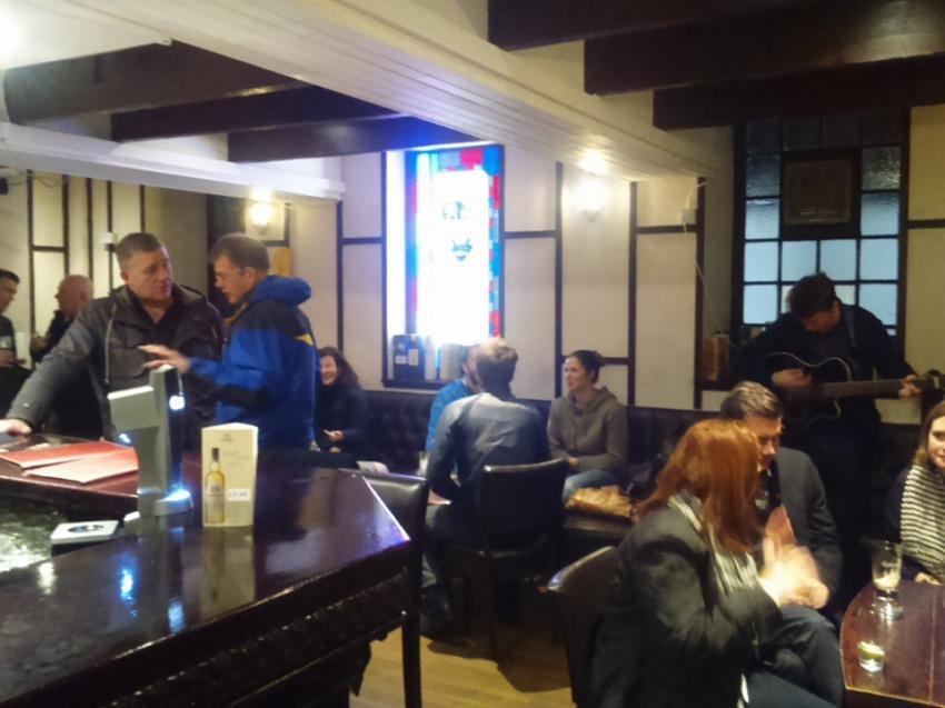 The Whisky Cellar in Oban, Whisky Cellar, Pub, Oban, Schottland, The Whisky Cellar, Großbritannien