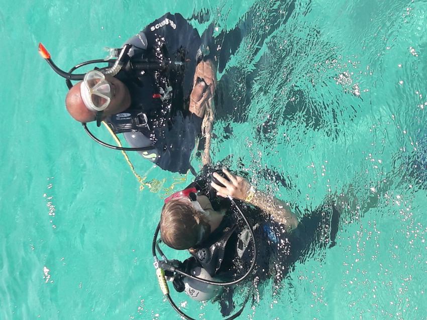 Tolles Team, Deep Ocean Blue Diving Center, Marsa Alam, Ägypten, El Quseir bis Port Ghalib