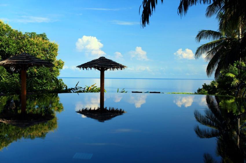 Pool, lumbalumba diving, manado, Indonesien, bunaken, tauchen, sulawesi, resort, Lumbalumba Diving Resort, Manado, Sulawesi