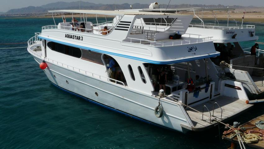 Tauchboot Aquastar 3, Aquastars DC, Amwaj Blue Beach Resort, Ägypten, Safaga