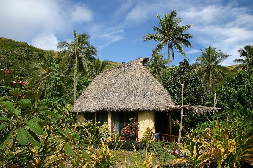 Yasawas/Botaira, Yasawas,Naviti,Fidschi,Strohhütte,Unterkunft