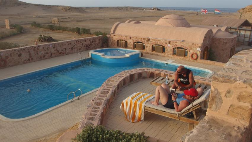 Swimming Pool, Luxury Roots Camp, Ägypten, El Quseir bis Port Ghalib