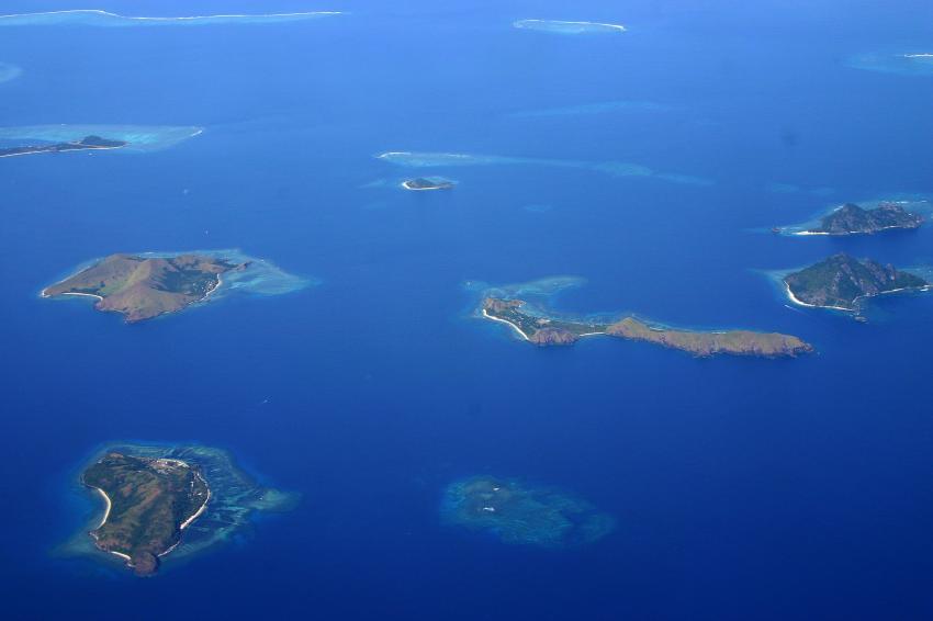 Mamanucas/Bounty Island, Mamanucas/Bounty Island,Fidschi,kl.Inseln,Vogelperspektive