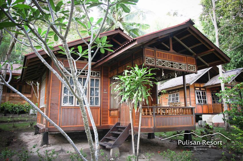STANDARD BUNGALOW, Pulisan Jungle Beach Resort, Indonesien