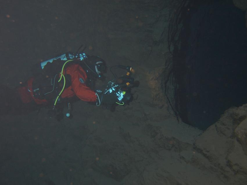 Kleine Bremen, Mehr auf www.ir-unterwasserfotos.de, Besucherbergwerk Kleinenbremen Kreis Porta Westfalica,Nordrhein-Westfalen,Deutschland