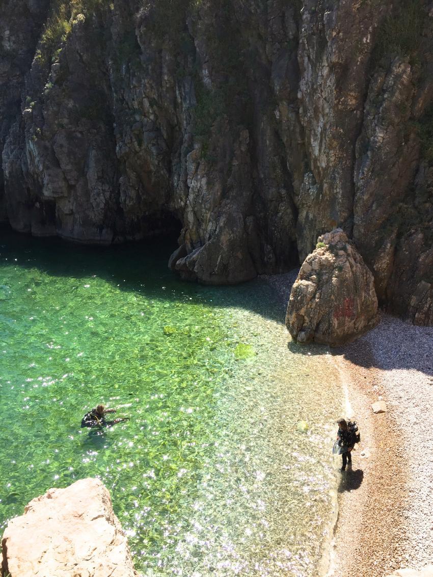 Secret Beach Vrbnik Insel Krk, Dive Loft Krk, Vrbnik, Insel Krk, Kroatien