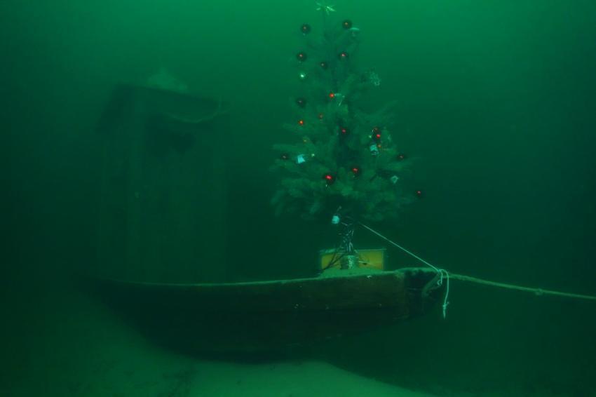 Weihnachten 2014, Attersee Stroblwand,Österreich