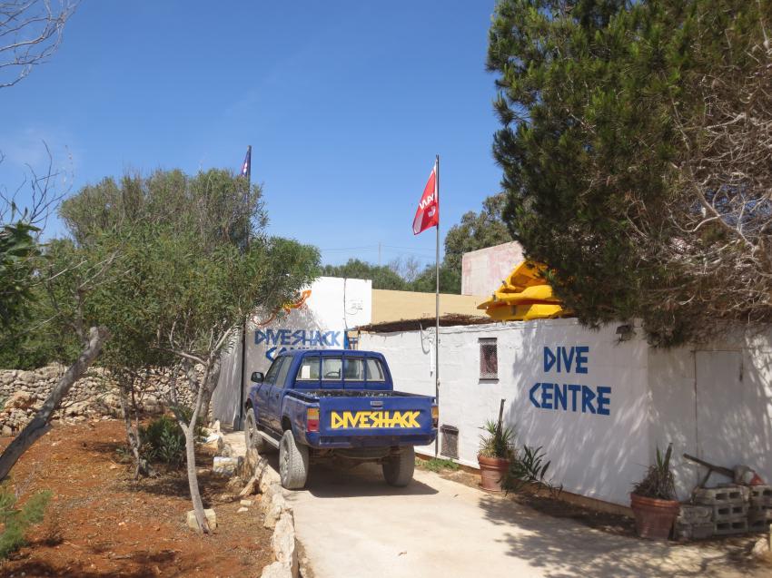 Comino Diveshack, Comino Dive Center by Diveshack, Comino, Malta, Comino