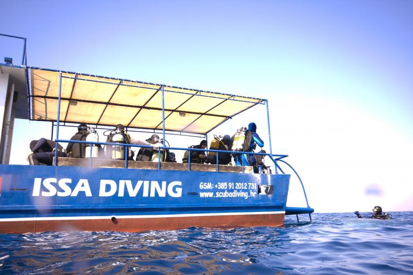 Komiza, Vis,Kroatien,Tauchboot