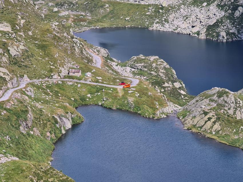 Lago Superiore, Fusio, Schweiz