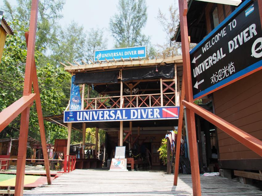 Universal Divers, Perhentian Pulau Besar, Malaysia