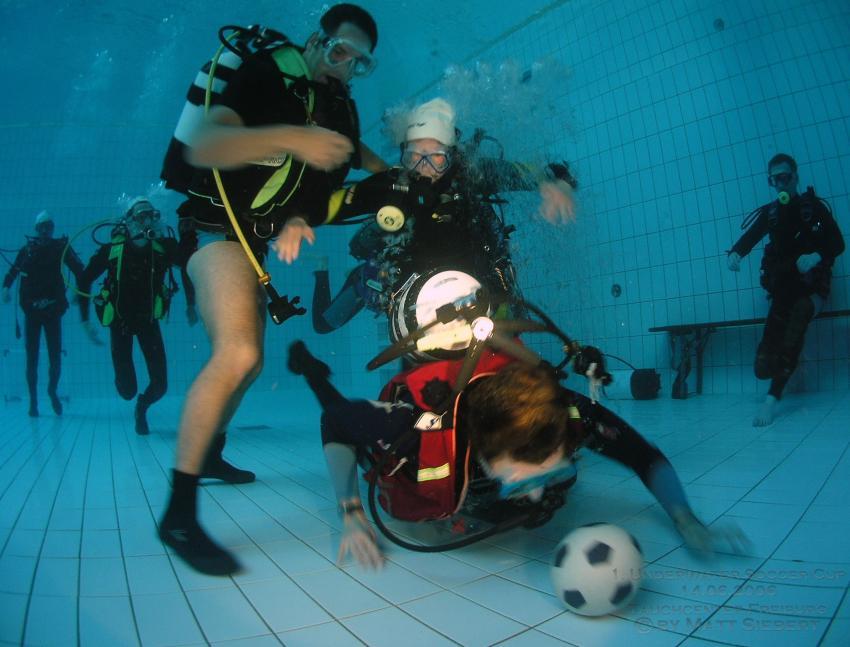 1. Unterwasser Soccer Cup 2006 - Freiburg, Diverses,Bayern,Deutschland