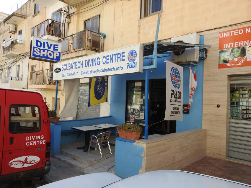 ScubaTech Diving Center, ScubaTech DivingCentre, St. Paul´s Bay, Malta, Malta - Hauptinsel