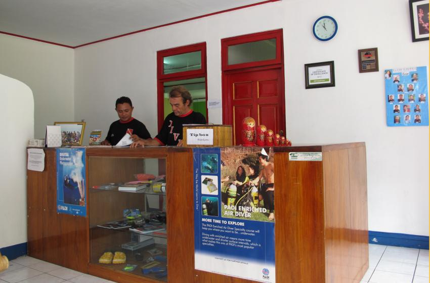Tasik Ria Divers, Tasik Divers, Manado / North Sulawesi, Indonesien, Sulawesi