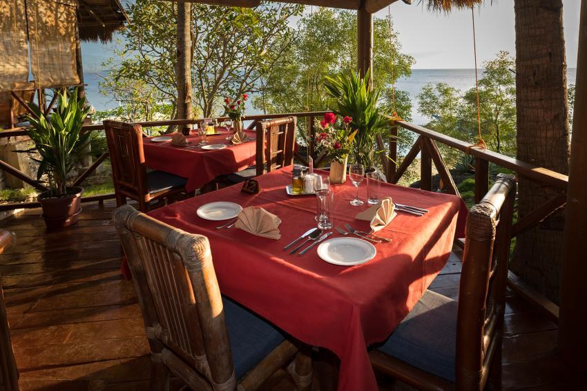 Sampaguita - Schlemmen mit Aussicht, Schlemmen Tauchen Relaxen Natur, Sampaguita Resort Hotel, Tongo Point, Maolboal, Cebu Island, Philippinen