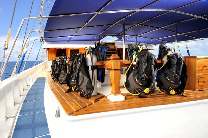 Dive Deck, S/Y Palau Siren, Palau