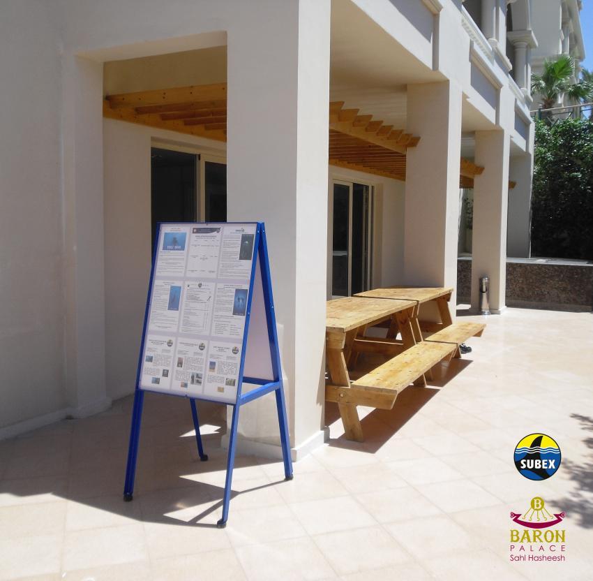 Eingang SUBEX Tauchbasis, Sahl Hasheesh, Baron Palace, SUBEX, Hurghada, Ägypten, Rotes Meer, SUBEX Sahl Hasheesh im Baron Palace