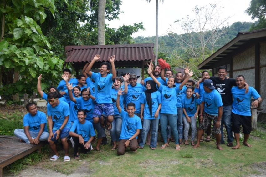 Unser Team, Lumba Lumba Diving Center, Pulau Weh, Sumatra, Indonesien, Allgemein