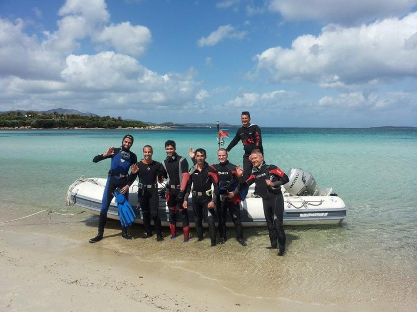 Start to dive, Ira Diving Club, Porto Rotondo (Sardinien), Italien, Sardinien