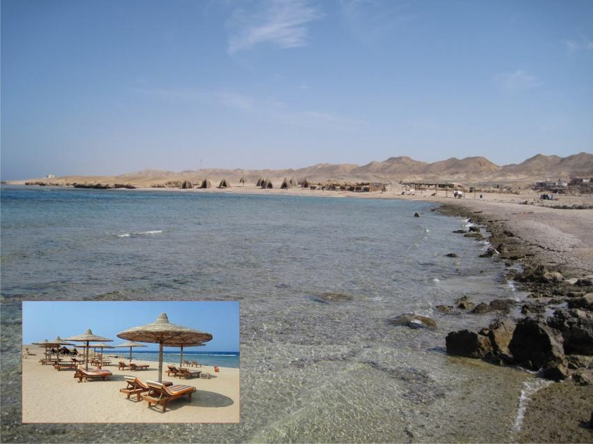 Private Beach, Luxury Roots Camp, Ägypten, El Quseir bis Port Ghalib