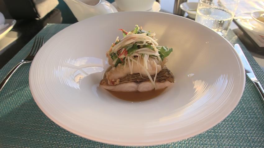 """Essen im """"Lonu"""" - """"sehr übersichtlich!"""", Dive Butler, Amilla Fushi, Malediven"""