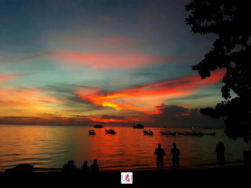 sunset koh tao, U&I PLACE, Koh Tao, Thailand, Golf von Thailand