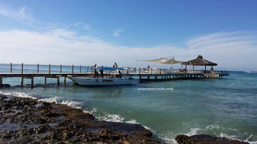 Cadaques Pier, GO DIVE Bayahibe, Dominikanische Republik