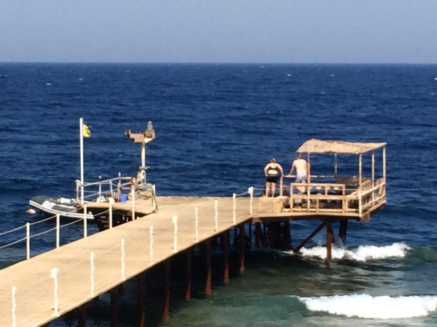 Bootssteg am Hausriff, Hotel Viva Blue, Extra Divers Sharm El Naga, Hotel Viva Blue, Extra Divers Sharm El Naga, Extra Divers - Hotel Viva Blue, Sharm el Naga , Ägypten, Safaga