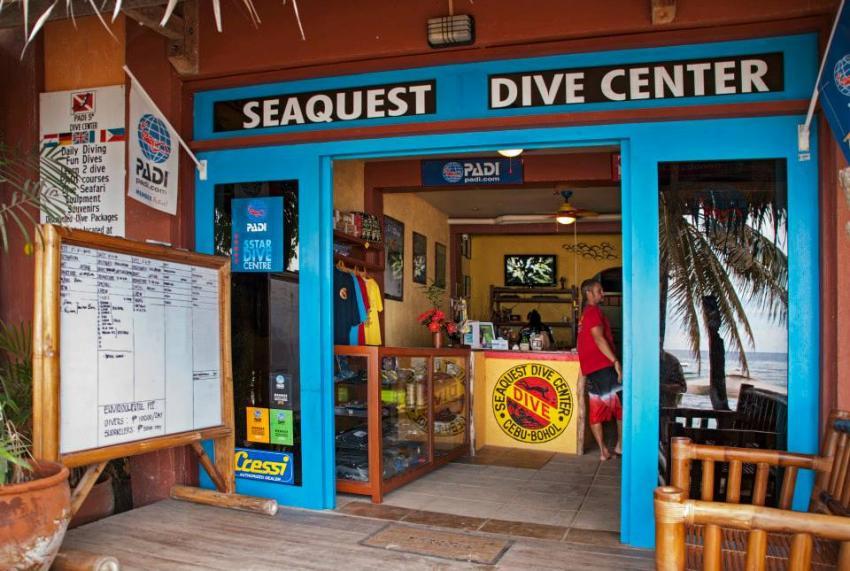 Seaquest Dive Center Bohol, Philippines, Bohol, Padi, Balicasag, Visayas, Seaquest Dive Center, Moalboal und Bohol, Philippinen