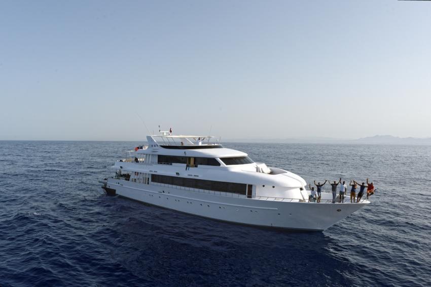 MY Blue Seas, M/Y Blue Seas, Ägypten