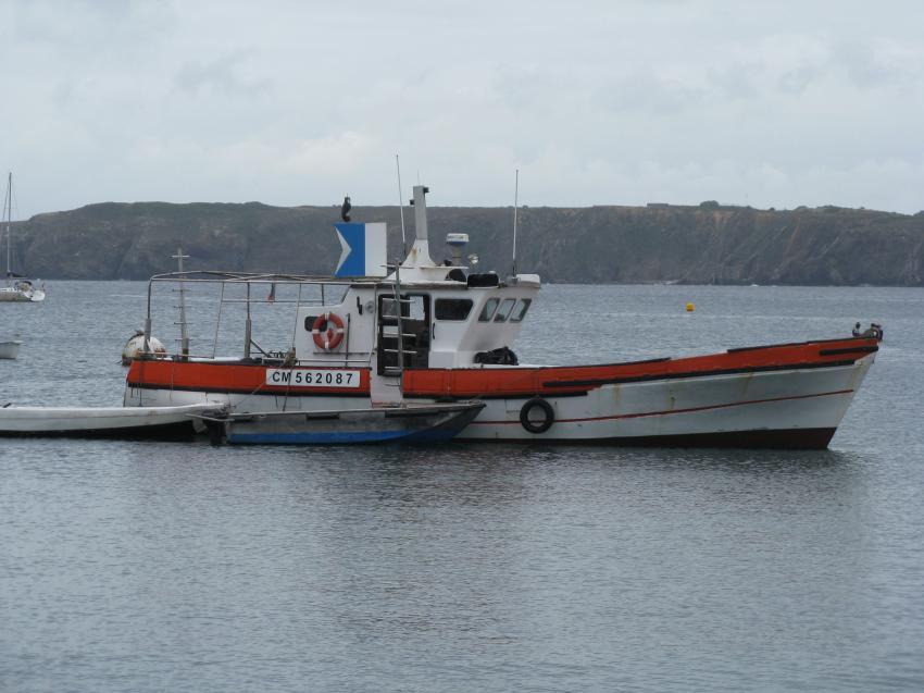 Camaret-sur-Mer, Camaret sur mer,Frankreich,Tauchboot