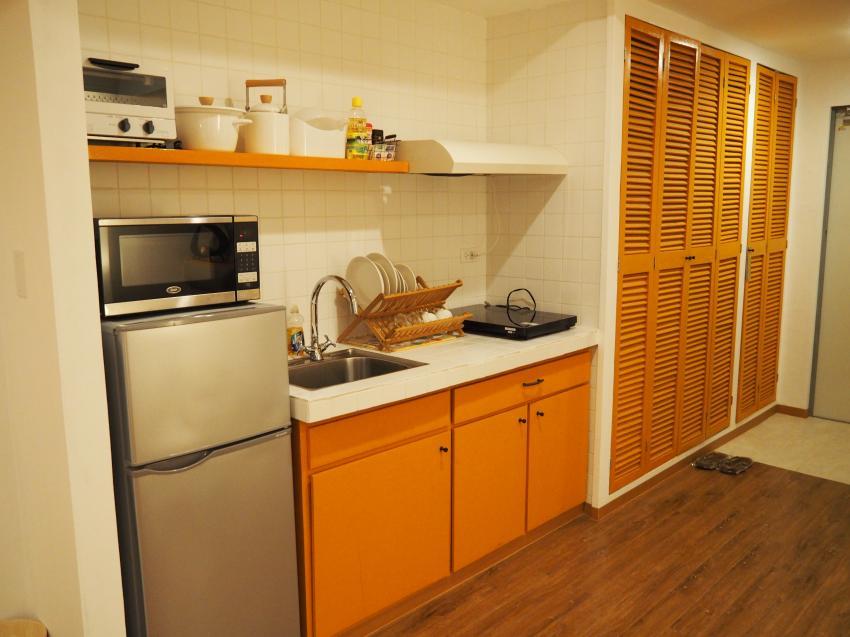 Kochnische mit kompletter Ausstattung, Garden Palace Downtown Koror, Palau, Palau
