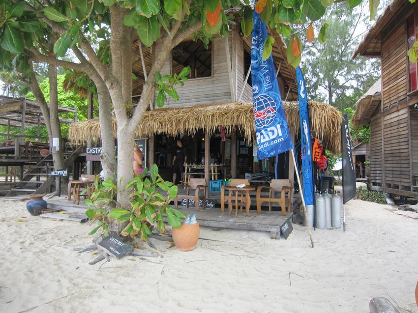 Koh Lipe diving Castaway, Ko Lipe Divers (Castaway Divers), Thailand, Andamanensee