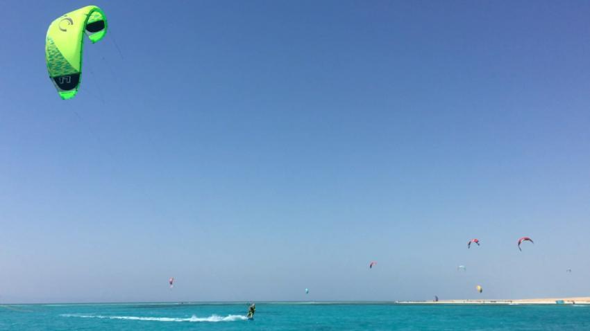 Kite Safari mit der SIMSIM DIVE, Kiten Tauchen, SimSim Dive, Ägypten, Hurghada