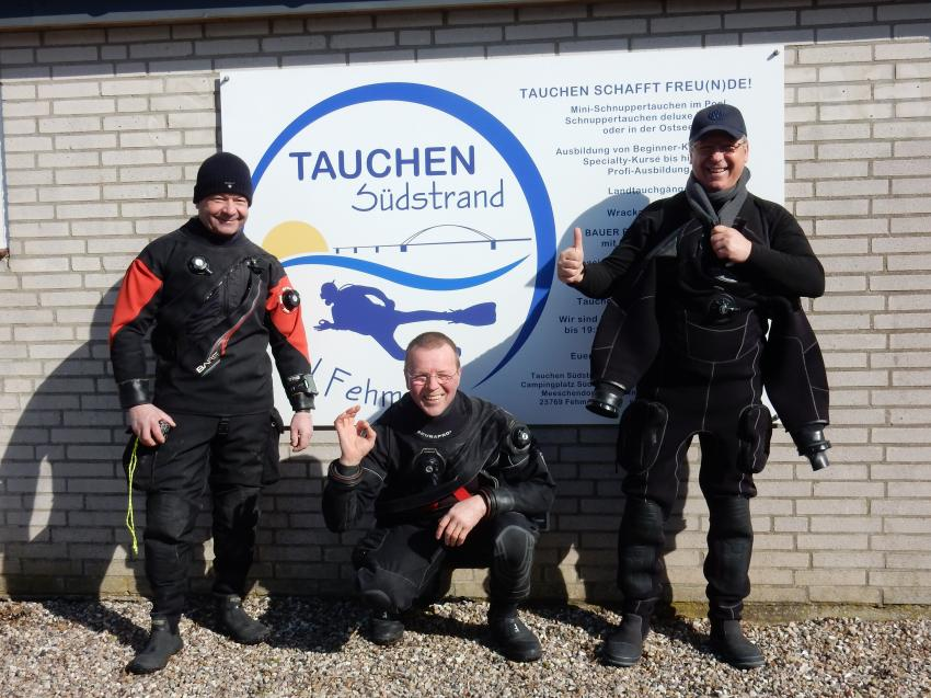 Tauchen Südstrand, Fehmarn, Deutschland, Schleswig-Holstein