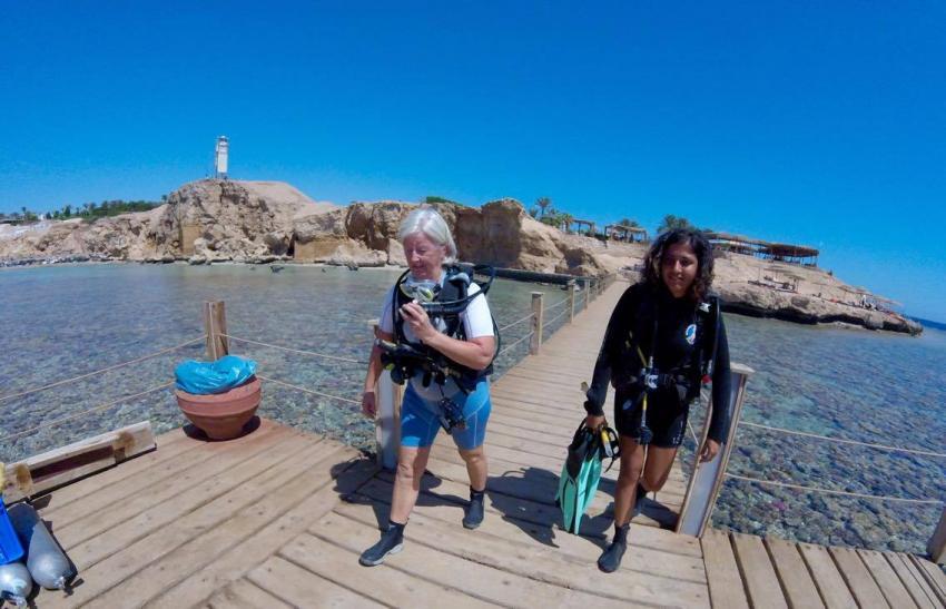 Shore Dives at Ras Um Sid, Circle Divers, Circle Divers, Hotel Badawia, Ägypten, Sinai-Süd bis Nabq