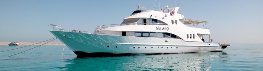 M/Y Nemo, Ägypten