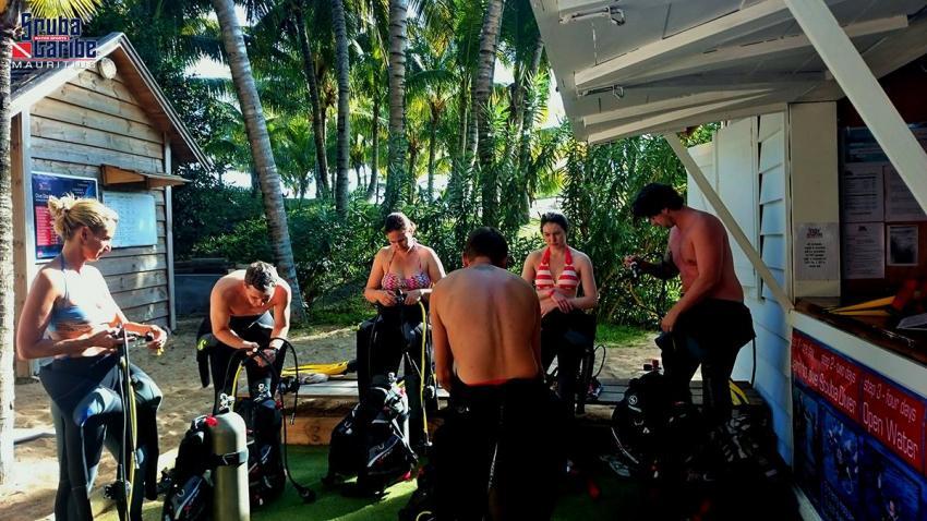 ScubaCaribe Le Morne - Kurs, ScubaCaribe Le Morne - RIU Hotels, Mauritius
