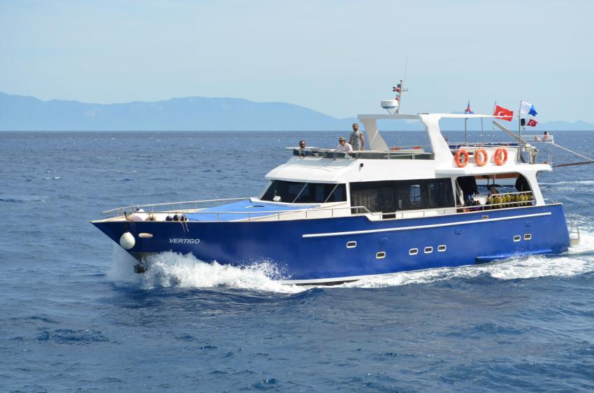 Aquapro Dive Boat 'VERTIGO', Aquapro Dive Boat ´VERTIGO´,Türkei