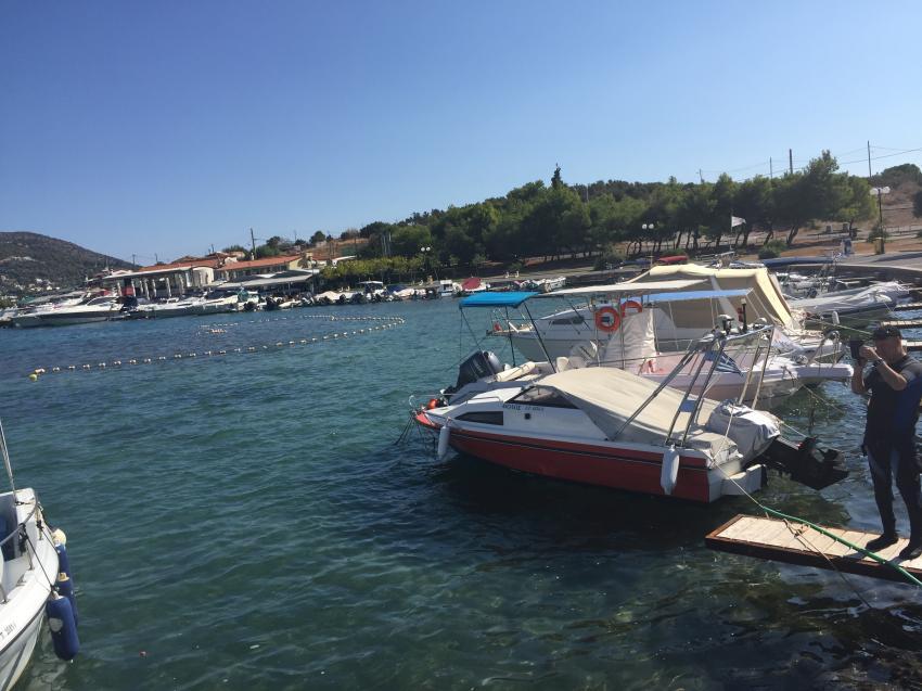 Aqua Team, Porto Rafti, Griechenland