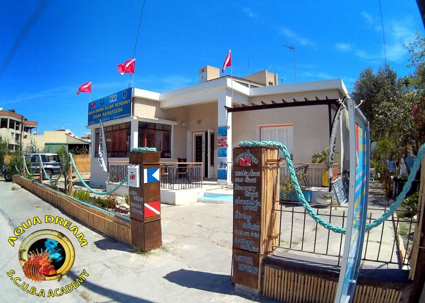 Aquadream SCUBA Academy , Our new base - where your dives become true :-), Aquadream, Zypern