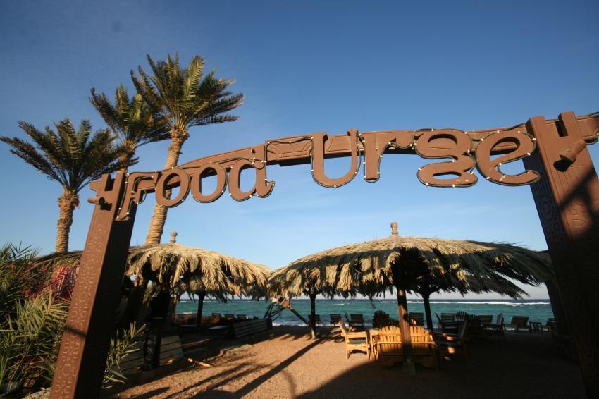 Food Urge, beach resturant, Dive Urge Dive Resort, Dahab, Ägypten, Sinai-Nord ab Dahab