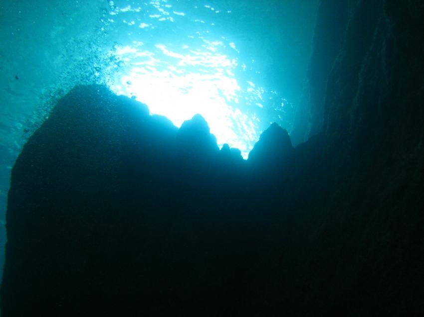 beeindruckenede Unterwasserlandschaften