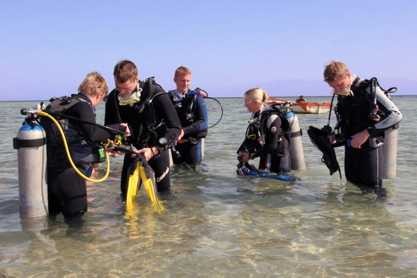 Shore diving Dahab