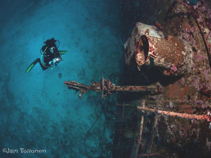 Tuna Wreck Similan Island, Simian Islands, Sea Turtle Divers - Khao Lak, Thailand, Andamanensee