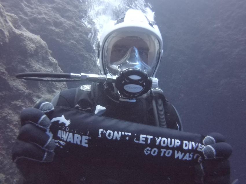 Tauchen gegen Muell, Project Aware, PADI, Dive for Debris, DiveSmart Gozo, Malta, Gozo