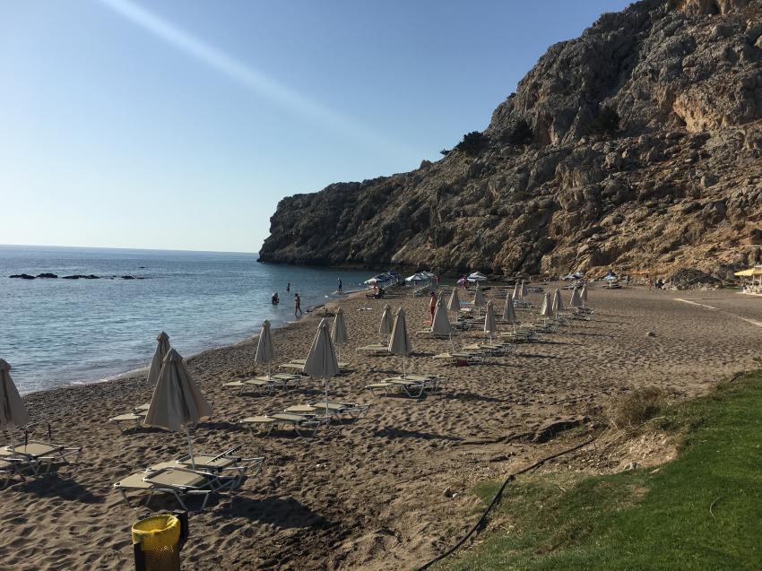 Kolymbia Beach Rhodes, Rhodos Kalithea-Bucht, Griechenland