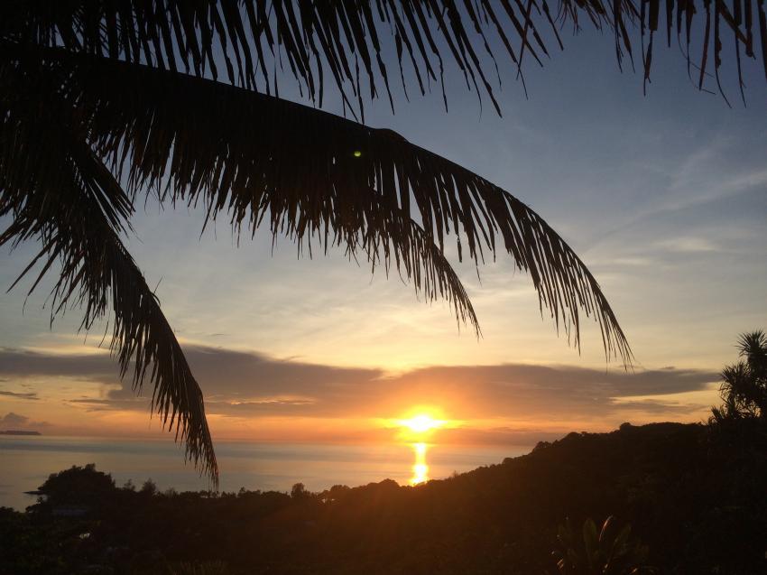 Sonnenuntergang Aliiibamou Resort Carolines, Aliiibamou Resorts ♥ Carolines, Palau, Palau