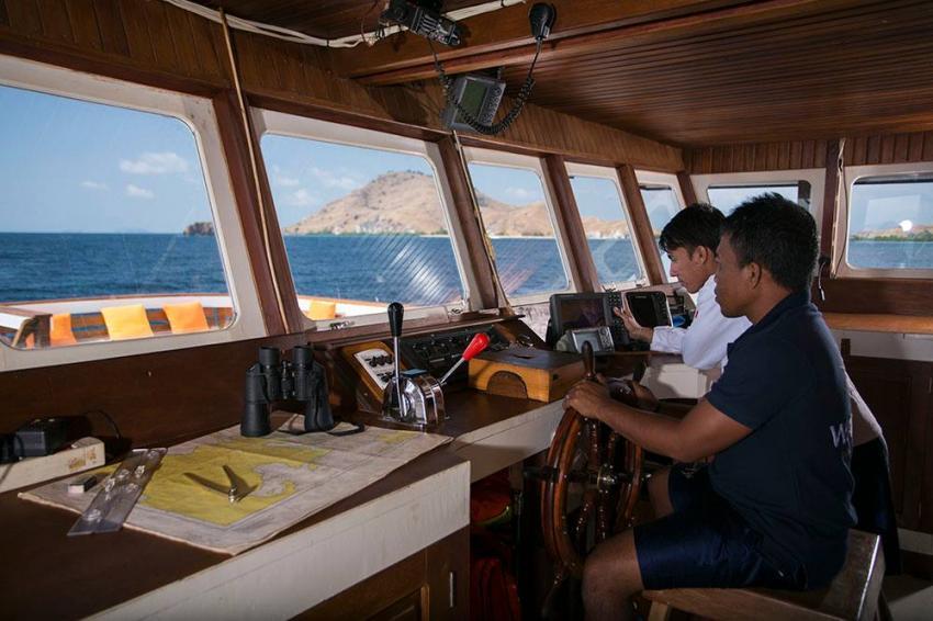 Captain's corner MV Ambai, Captain MV Ambai, MV Ambai, Indonesien, Allgemein