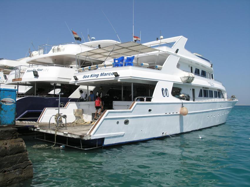 M/Y Sea King Marco, Ägypten
